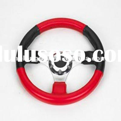 Go-kart PU auto parts LRJN03 karting steering wheel