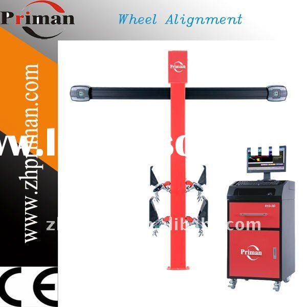 High precision 3D 4 wheel alignment system