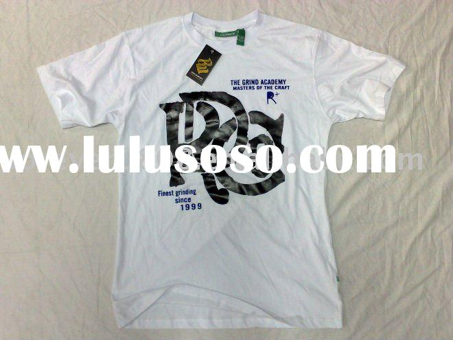 Hip-hop t-shirt , cotton t-shirt printing, 2011, the latest styles.
