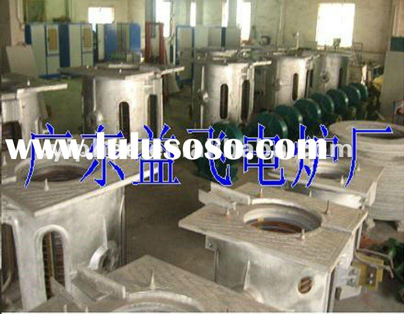 Industrial Electric Scrap Metal Melting Induction Furnace