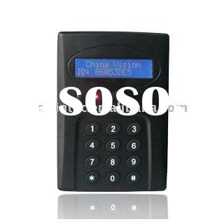 Keypad 125KHz time attendance and access control with LCD & RS232