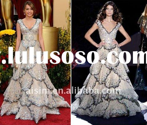 Miley Cyrus In Zuhair Murad Dress For Oscars Celebrity Red Carpet Dress