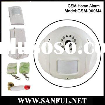 Mini Home Alarm system with Camera-GSM M4