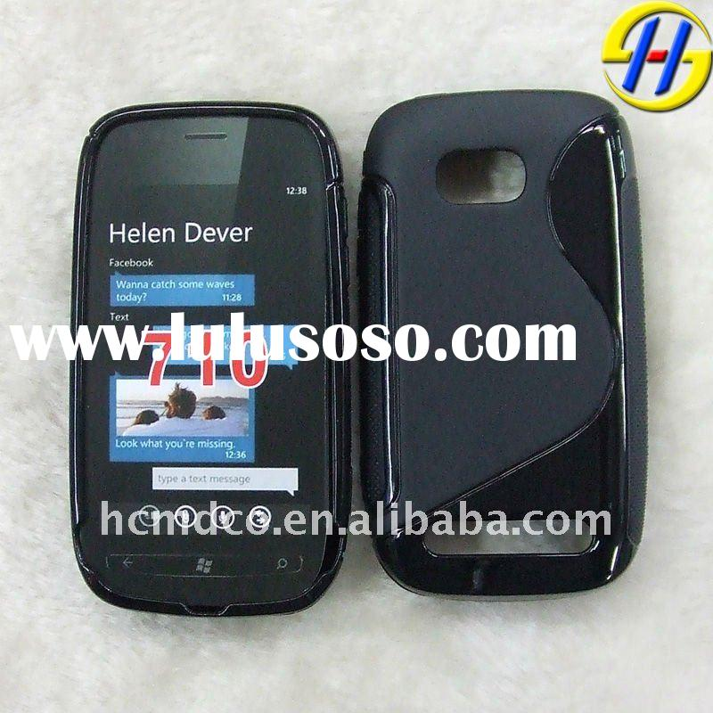 NEW TPU gel mobile phone case for NOKIA lumia 710