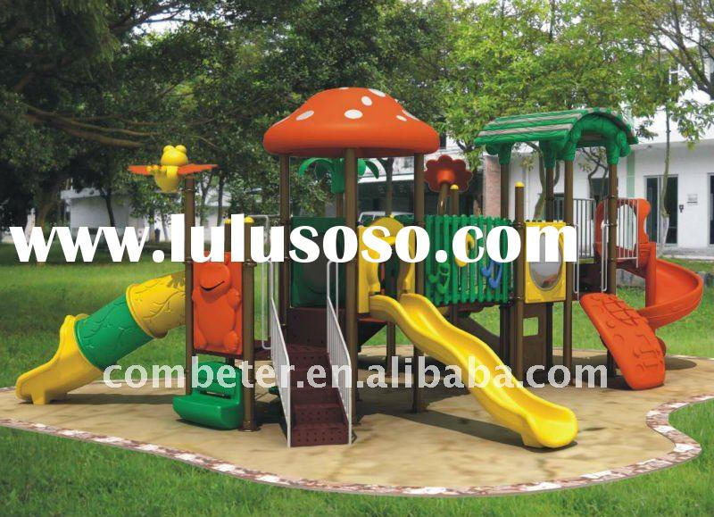 Outdoor playground slide/kids slide/all weather outdoor furniture/climbing equipment