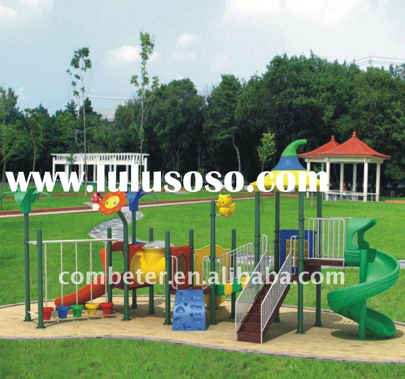 Outdoor playground slide/plastic outdoor playground/all weather outdoor furniture/kids slide/climbin