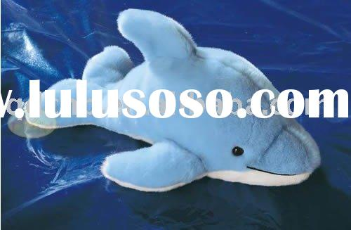 Plush Dolphin Mini Plush Dolphin Miniature Stuffed Dolphin Keychain Marine Animal Sea Animal Toy Min