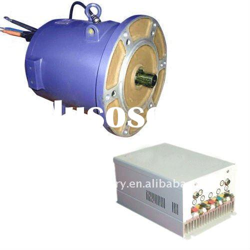 Rare-earth permanent magnet BLDC motor