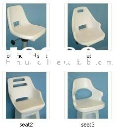 Rotationally Moulded Polyethylene seat,Cast Aluminum Rotational Mold for seat, boat seat with rotati