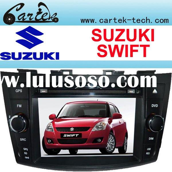 SUZUKI SWIFT Car DVD Player With 7 Inch HD Digital Touch Screen, GPS, IPOD, Wince6.0 OS