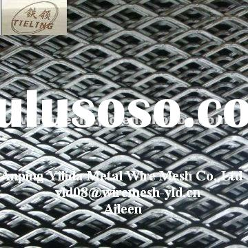Standard Export Expanded Metal Mesh/ Low Carbon Steel Expanded Metal Mesh