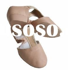 TS020 Leather Ballet Teaching Shoes / Split sole Ballet Teaching Shoes