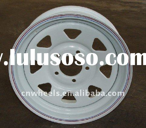 Utility small Trailer wheel rim 15x5J,15X6J,16X6J trailer rims