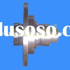 WGP Type Tooth Curved Couplings, Crown gear couplings with brake disc, disk brake