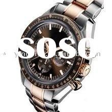 Weiying direct factory 2012 newest fashion stainless steel wrist watches men