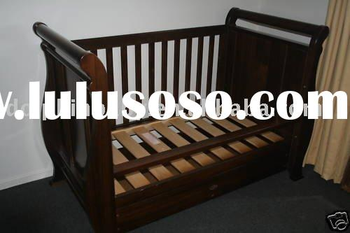 Wooden Custome Baby Bed, Babies and Bedbaby cot, baby furniture, convertible rocking crib