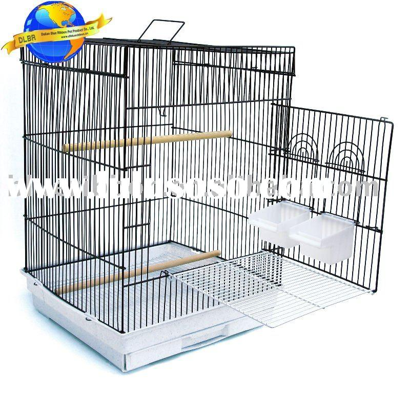 bird cage with platform for canary