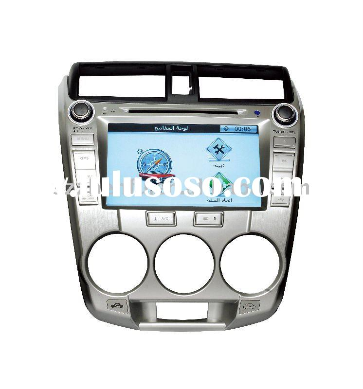 car dvd gps for Honda City for 2011