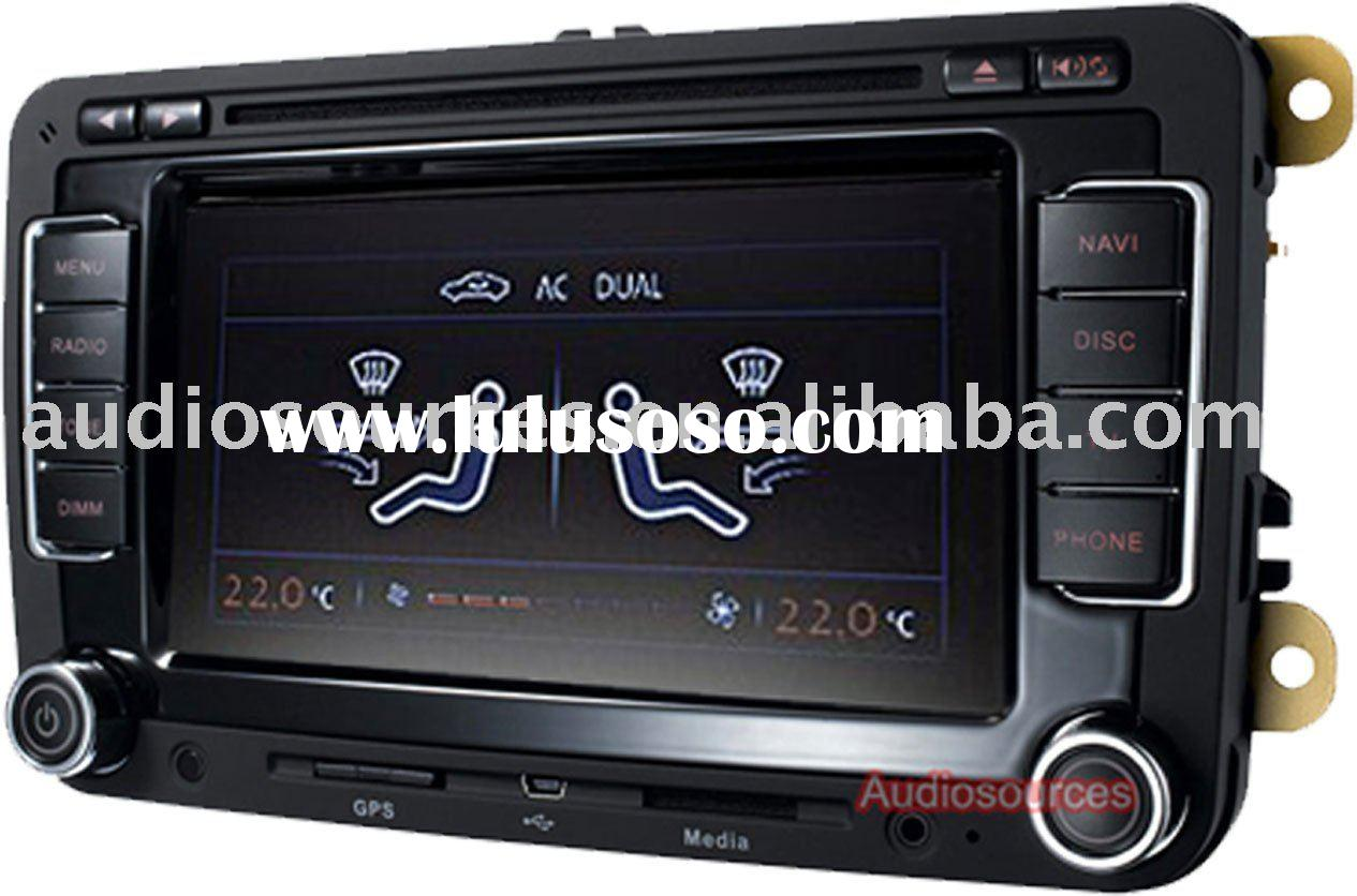 car dvd player for VW Can-Bus support 2010 Golf 6 and Skoda Superb