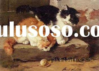 cats or animals Oil Painting by numbers on 100% cotton Canvas