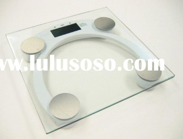 electronic body fat and water scale for heathcare