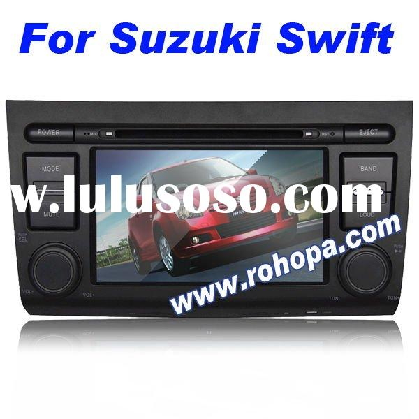 for suzuki swift car dvd player with gps rds steering wheel control