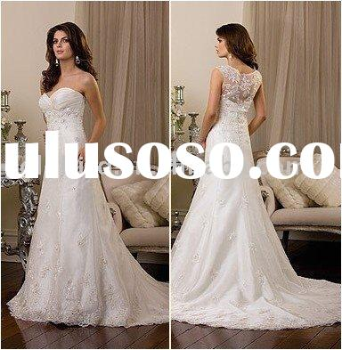 free shipping 1 piece Wedding dress gown, wedding gown, wedding dress