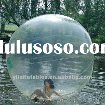 funny 0.7mmpvc/tpu clear inflatable water ball/wow bubble