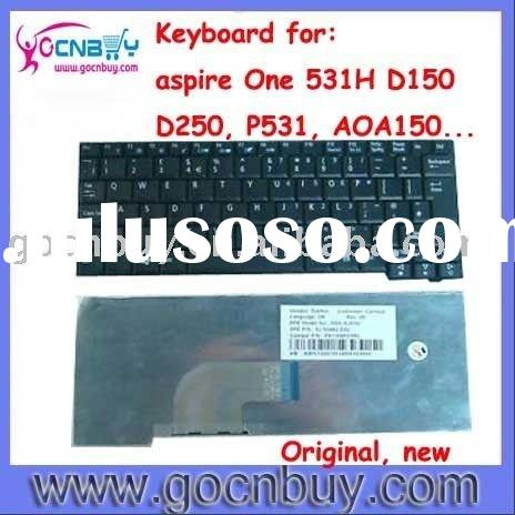 original laptop keyboard for acer aspire 531H, aspire D150, aspire D250