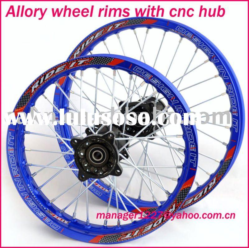 pit bike / dirt bike aluminum wheels / rims ,CNC Wheel Rim