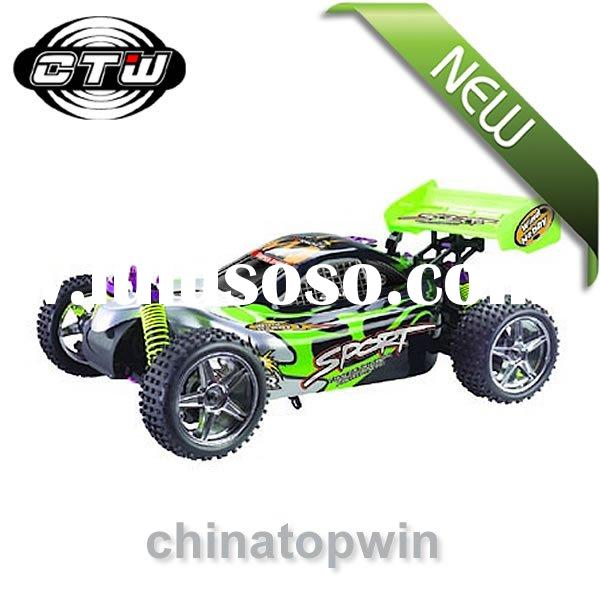 rc nitro car 1/10th scale 4WD nitro powered off-road buggy,rc hobby,rc car,rc nitro,nitro car