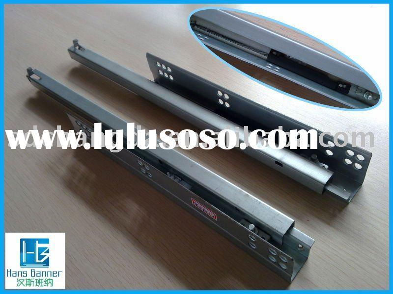 single/partial extension undermount drawer slide