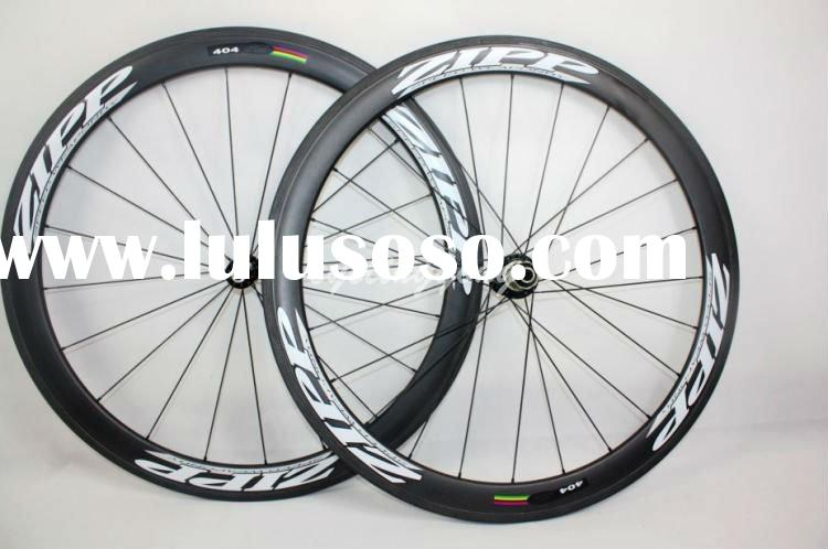 wholesale,free shipping Zipp 404 carbon Wheelset C-50 clincher 3K weave wheels 50mm