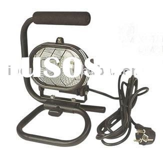 150W Portable Halogen Work Light with Stand ,Halogen Project Light,Halogen Work lighting