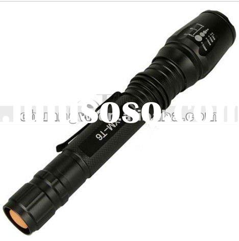 1600lm Lumen CREE XML XM-L T6 LED Zoomable Focus Adjustable Flashlight Torch