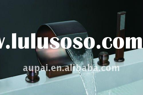2011 New Arrival! Solid Brass Oil Rubbed Bronze Waterfall Bath Faucet (Y-8014R-2)