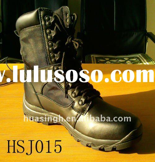 2011 fashion military boots with steel toe, EVA+rubber sole