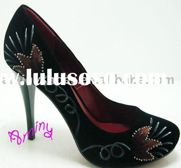 2011 high heel lady shoes
