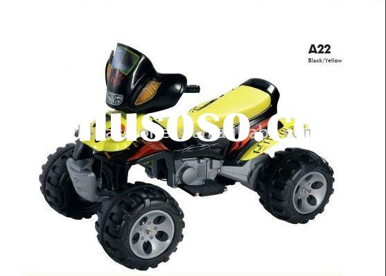2011 most popular design B/O battery operated baby beach car A22yellow
