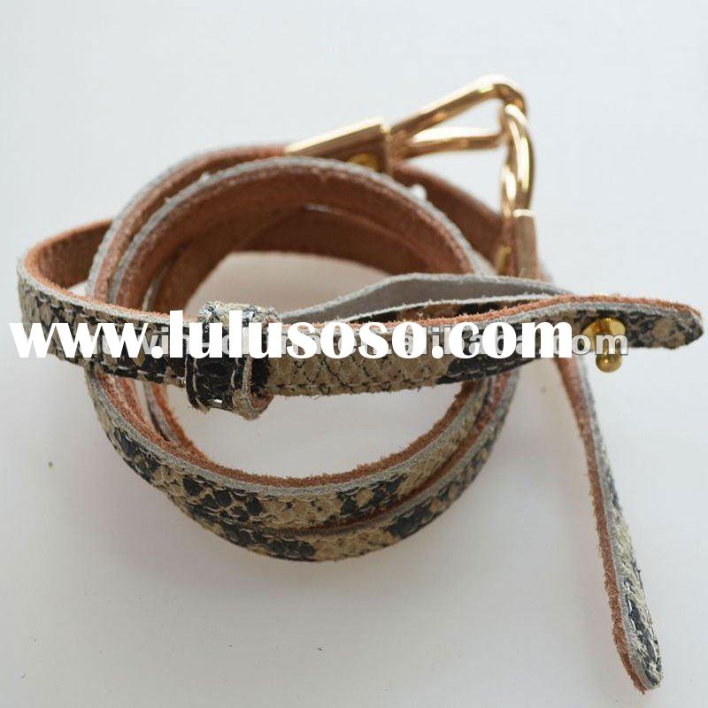 2012 Fashion Casual Leather Belt For Women