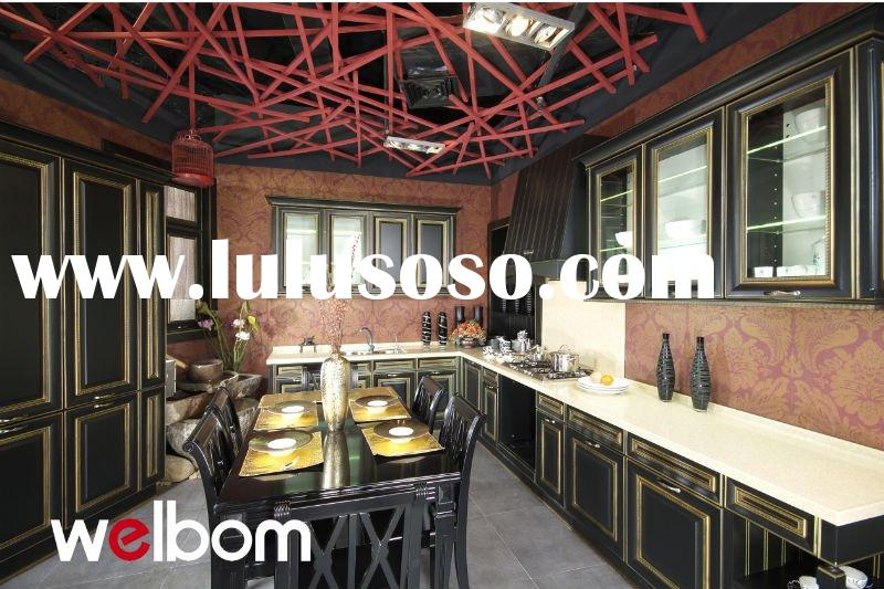 2012 Hotsale Solid Wood Kitchen Furniture