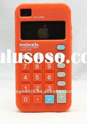 2012, new calculator phone accessories for iphone 4, cell phone accessory