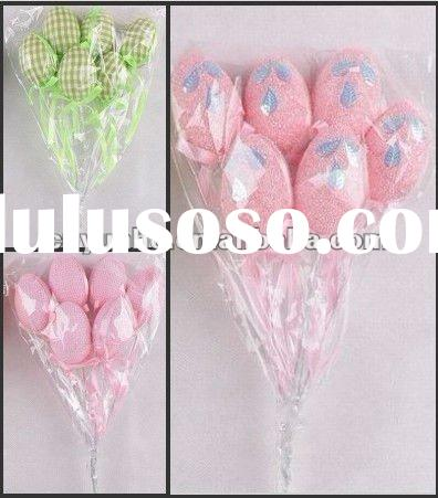 2012 new hot fashion lovely Easter plastic eggs