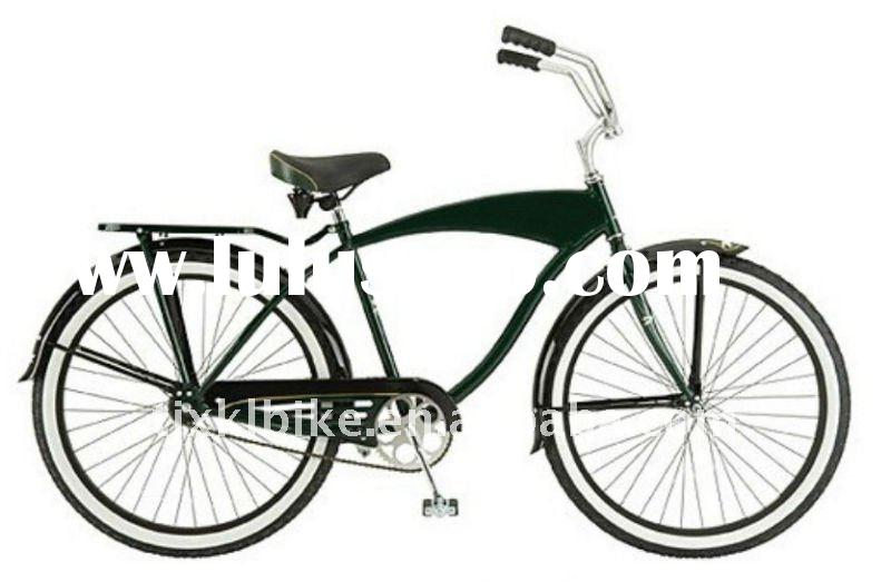 Beach Cruiser Bicycle With Disc Or Drum Brakes For Sale