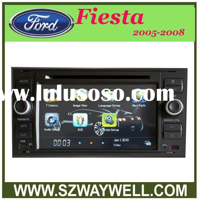 2 Din HD Car DVD with GPS/ Blue tooth/I-POD control/Radio/Amplifier FOR FORD Fiesta 2005-2008