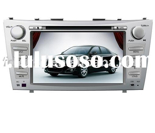 2 din 7 inch Toyota Camry car dvd with gps