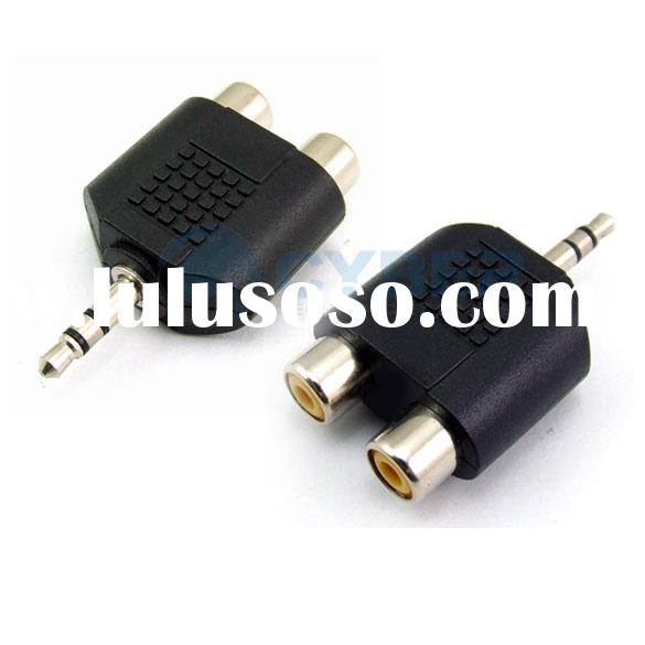 3.5mm Audio Jack Out Plug to 2 RCA