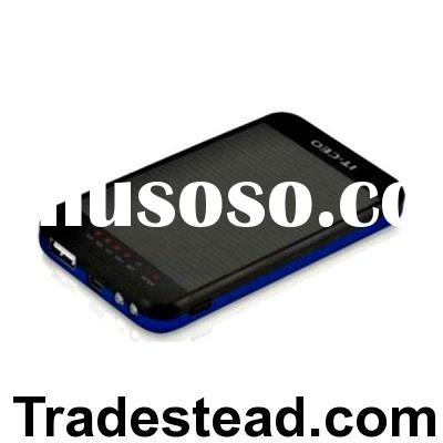3,600mAh Stylish Solar Charger for Apple 3GS / 3G, Nokia, Samsung - 3.7-5.5v Voltage Output