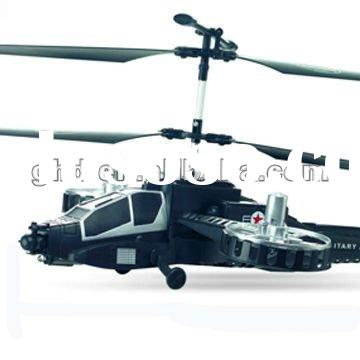 4 Channel Infrared Radio Control Micro Electric Toys RC Helicopter With Gyro and LED