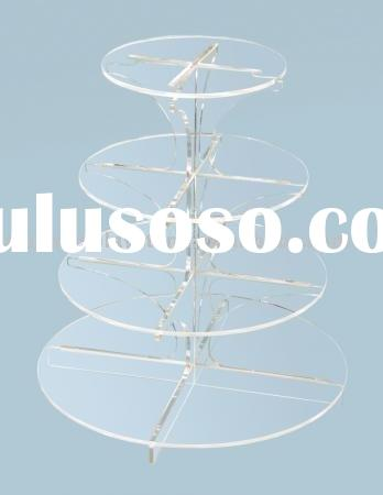 4 Tier Cup Cake Stand/4 Tier Acrylic Cake Stand